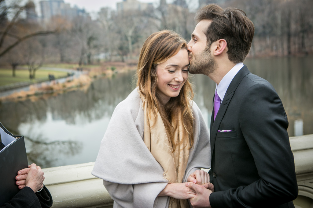 Photo 3 Central Park's Bow Bridge Wedding | VladLeto