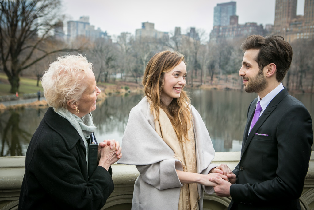 Photo 2 Central Park's Bow Bridge Wedding | VladLeto