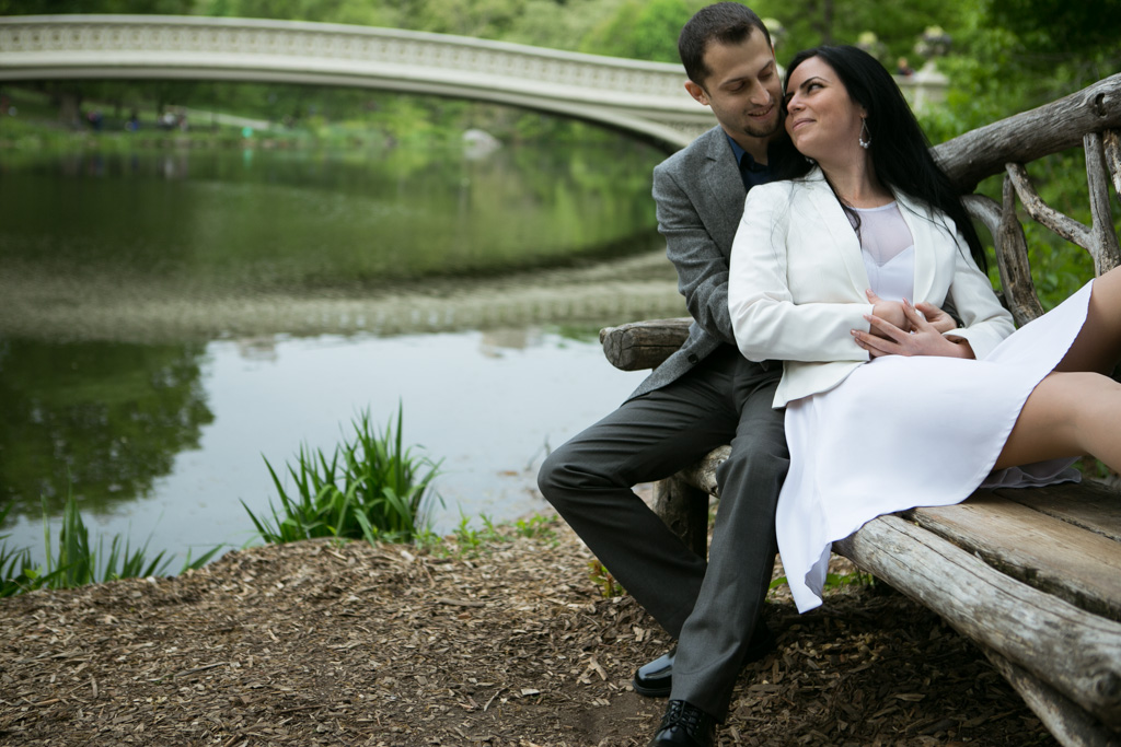 Photo 14 City Hall Wedding + Central Park | VladLeto