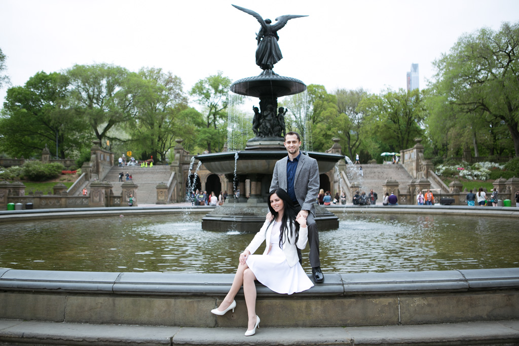 Photo 21 City Hall Wedding + Central Park | VladLeto