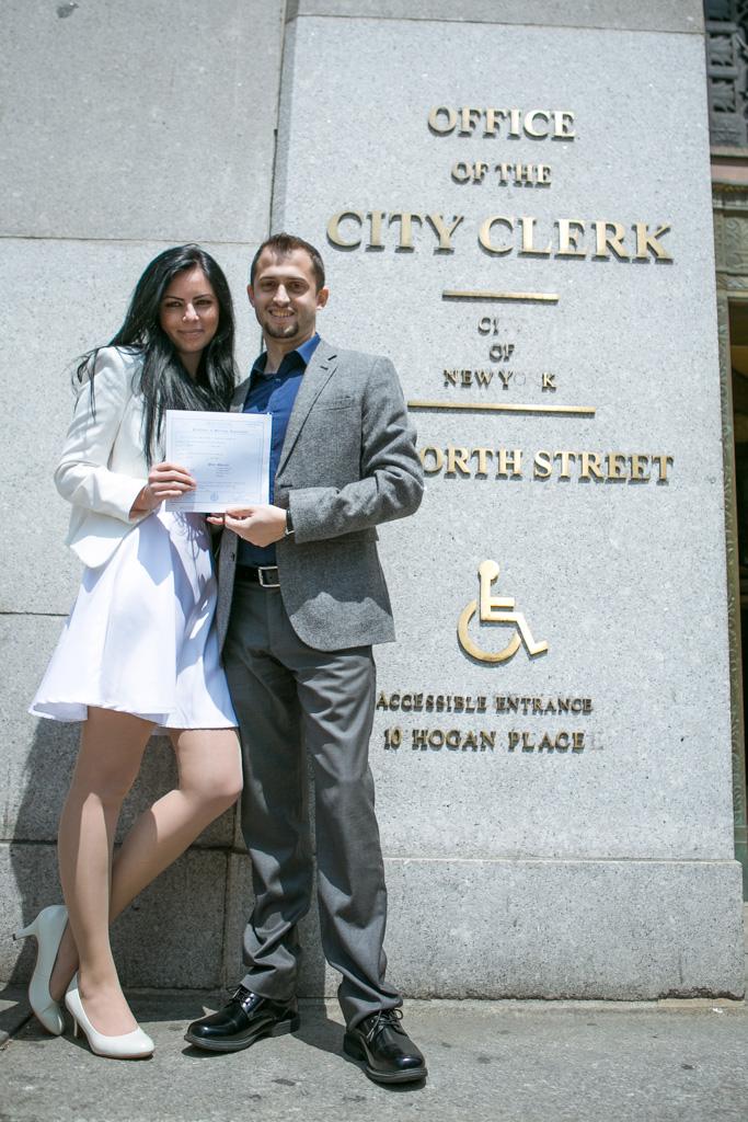 Photo 3 City Hall Wedding + Central Park | VladLeto