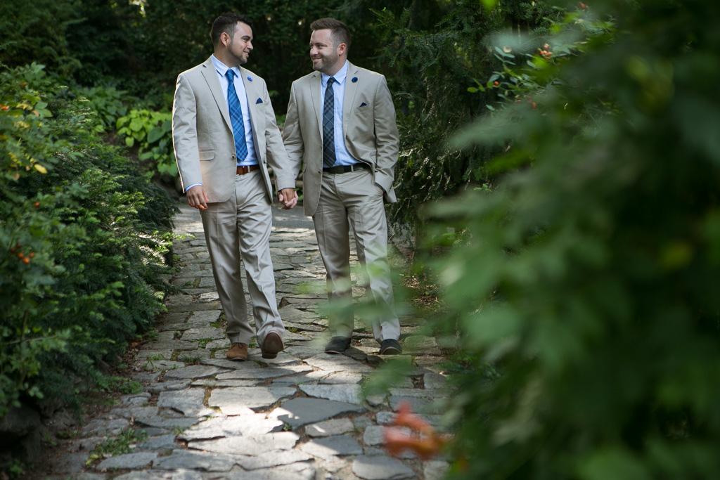 Photo Central Park Shakespeare Garden Wedding | VladLeto