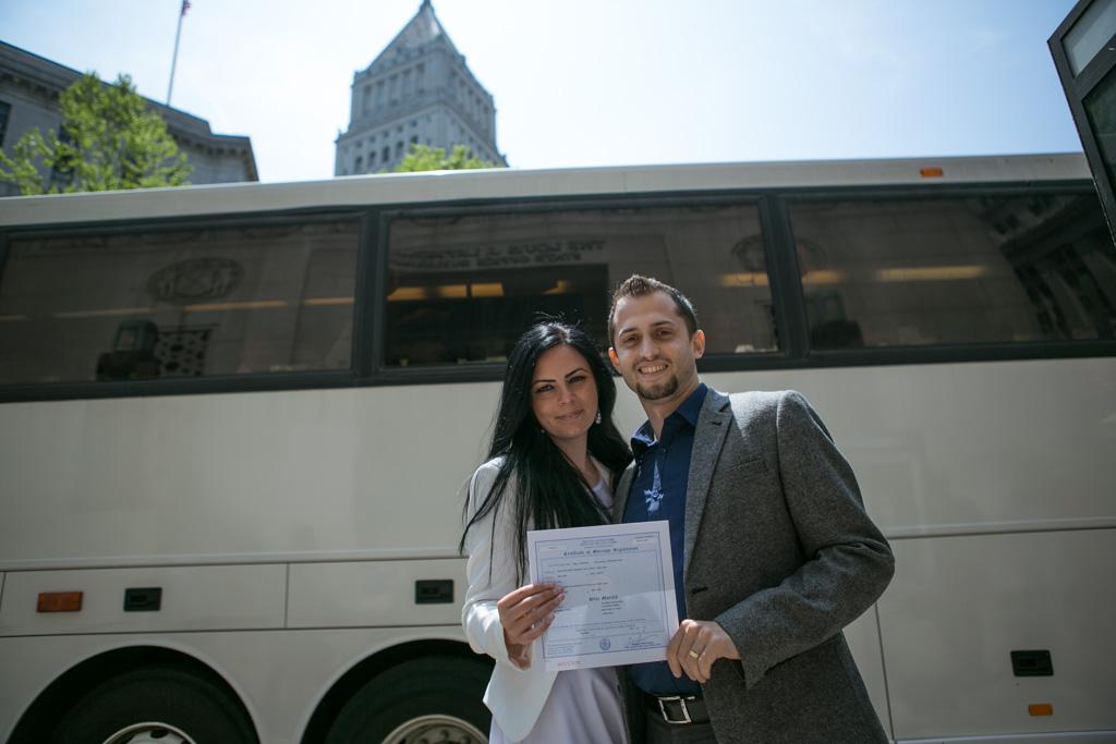 Photo 2 City Hall Wedding + Central Park | VladLeto