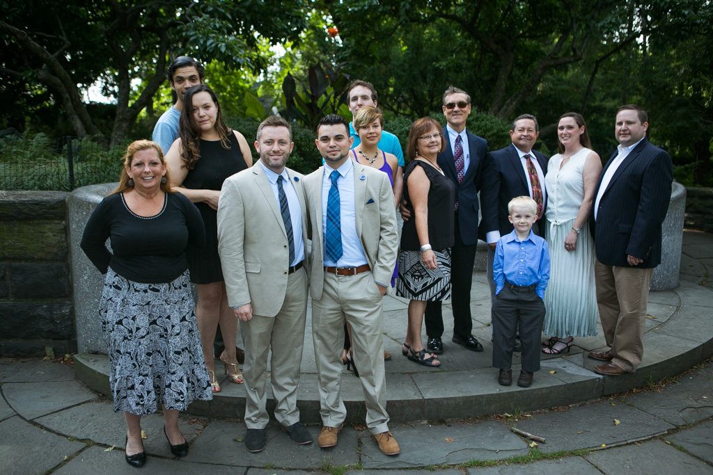 Photo 7 Central Park Shakespeare Garden Wedding | VladLeto