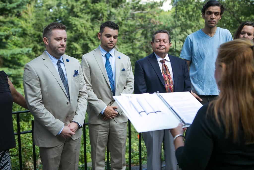 Photo 6 Central Park Shakespeare Garden Wedding | VladLeto