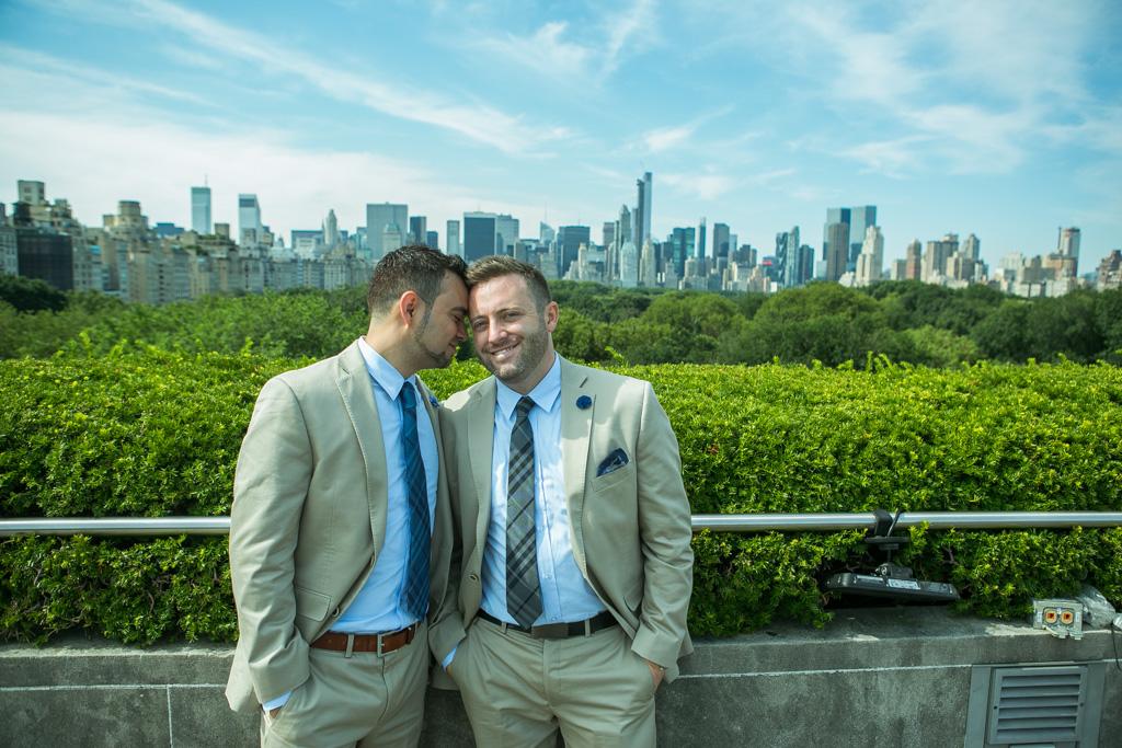 Photo 8 Central Park Shakespeare Garden Wedding | VladLeto