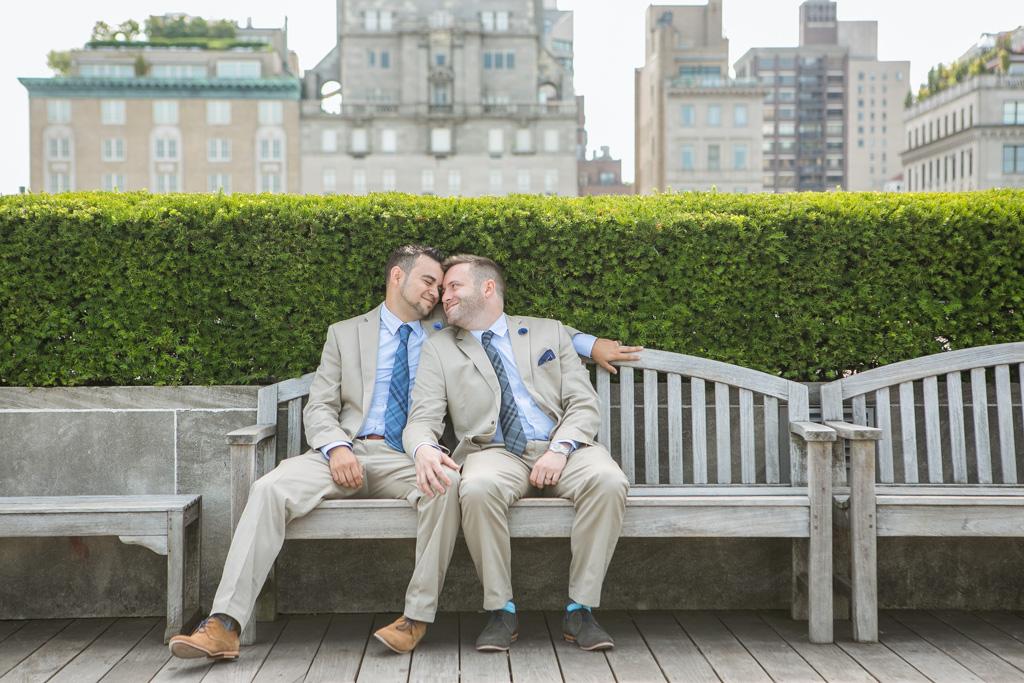 Photo 9 Central Park Shakespeare Garden Wedding | VladLeto