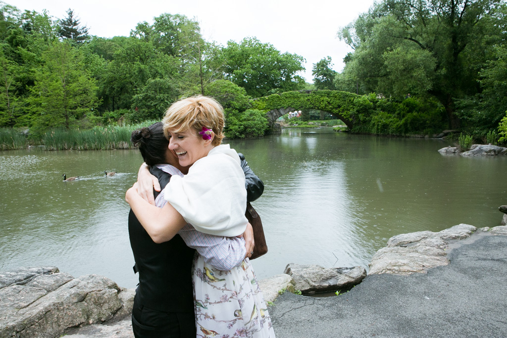 Photo 5 Central Park's Gapstow Bridge Wedding | VladLeto