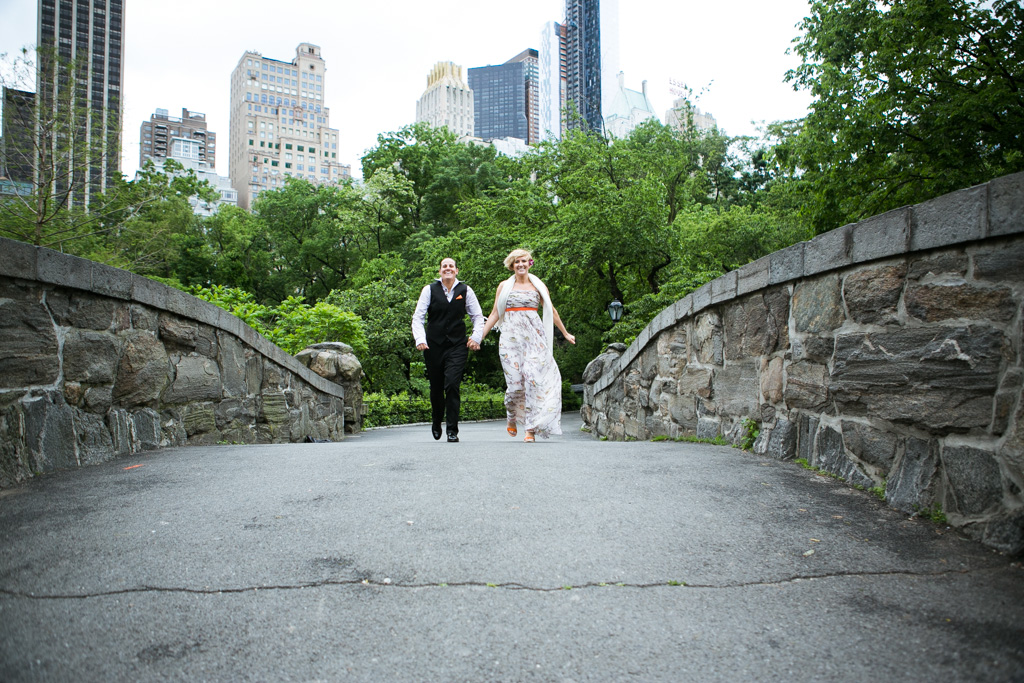Photo 13 Central Park's Gapstow Bridge Wedding | VladLeto
