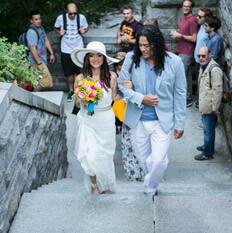 Photo Wedding at Belvedere Castle in Central Park | VladLeto