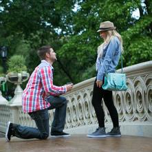 Photo Bow Bridge Central Park Proposal | VladLeto