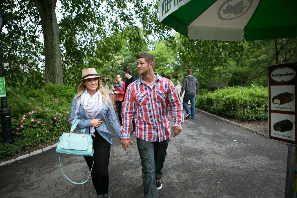 Photo 7 Bow Bridge Central Park Proposal | VladLeto
