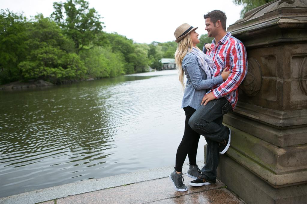 Photo 8 Bow Bridge Central Park Proposal | VladLeto