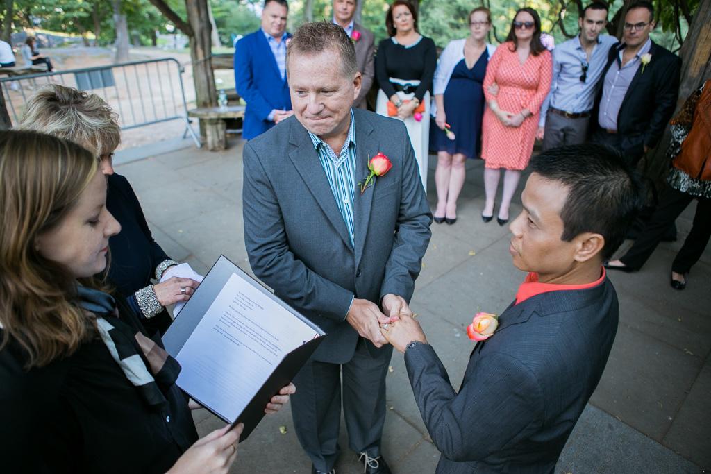 Photo 8 Wedding at Cop Cot in Central Park   VladLeto