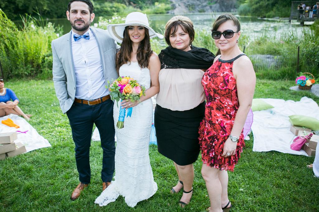 Photo 16 Wedding at Belvedere Castle in Central Park | VladLeto