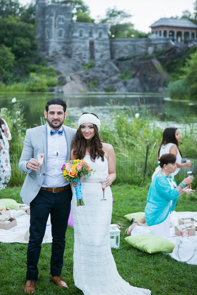 Photo 33 Wedding at Belvedere Castle in Central Park | VladLeto