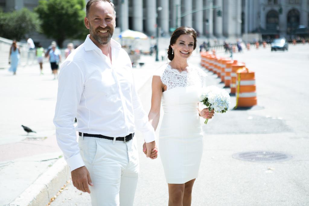 Photo City Hall Wedding Manhattan | VladLeto