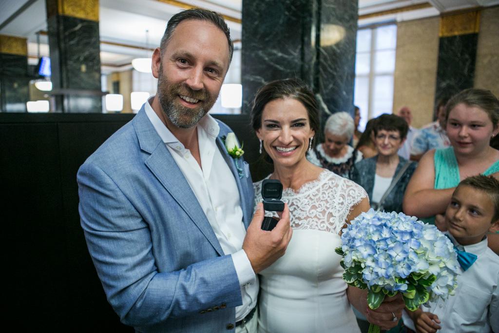 Photo 11 City Hall Wedding Manhattan | VladLeto