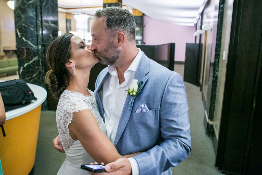 Photo 13 City Hall Wedding Manhattan | VladLeto