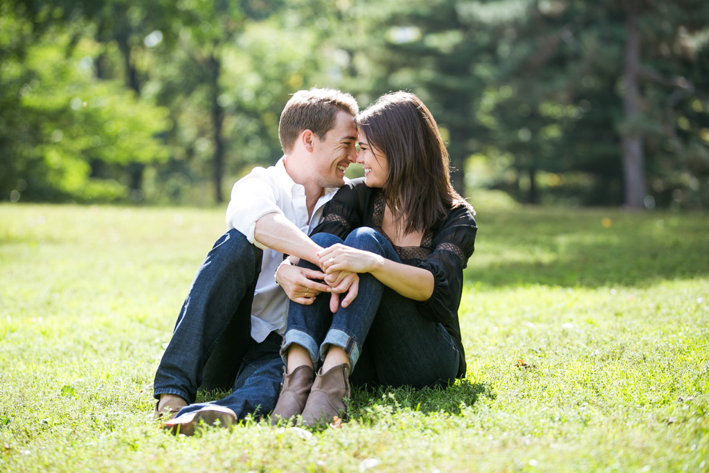 Photo Engagement in Central Park | VladLeto