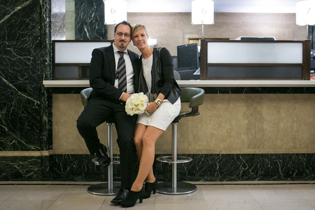 Photo 7 City Hall Wedding Brooklyn Bridge | VladLeto