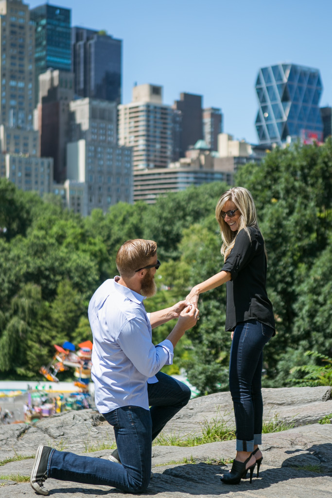 [ Marriage Proposal at Central Park]– photo[1]