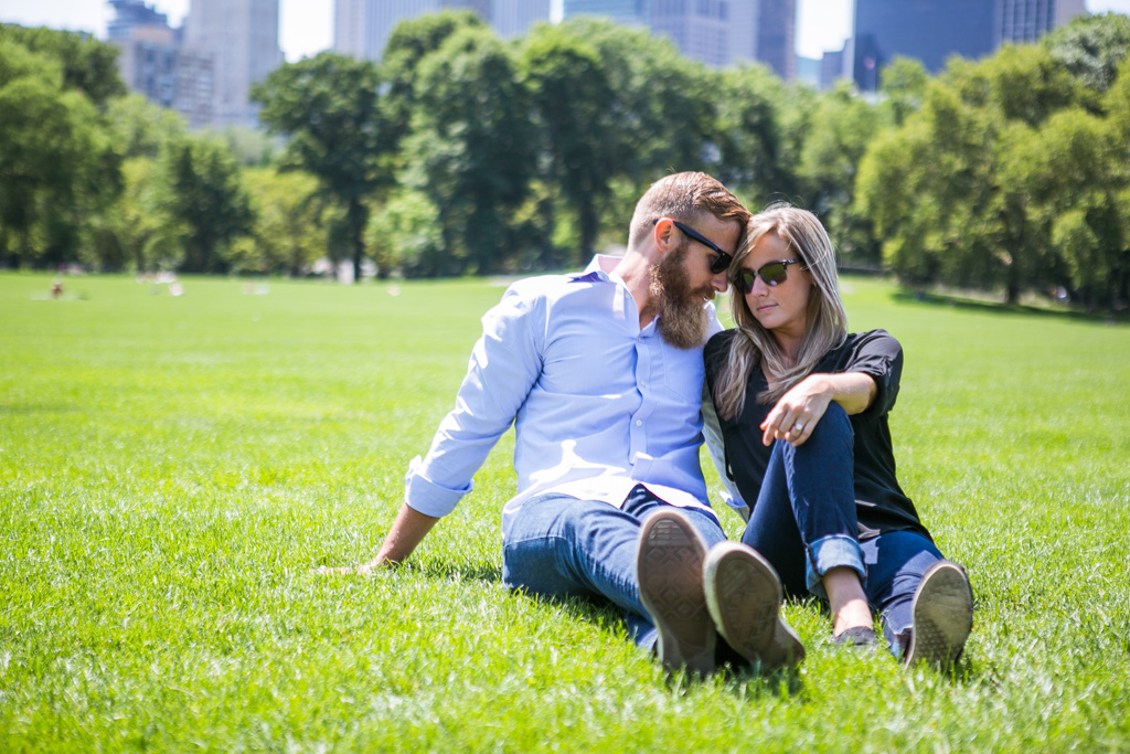 [ Marriage Proposal at Central Park]– photo[5]