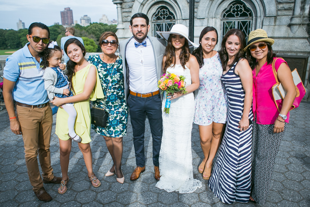 Photo 11 Wedding at Belvedere Castle in Central Park | VladLeto