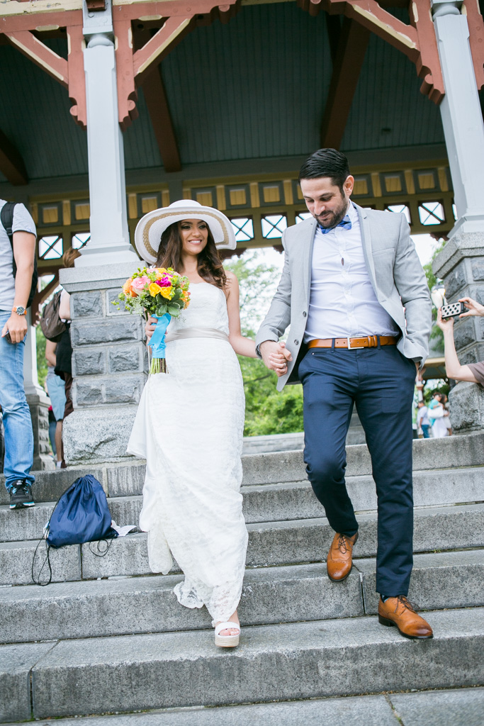 Photo 8 Wedding at Belvedere Castle in Central Park | VladLeto