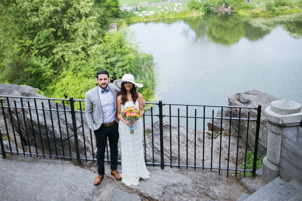 Photo 19 Wedding at Belvedere Castle in Central Park | VladLeto