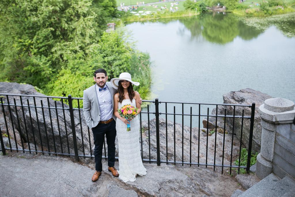 Photo 11 Wedding at Belvedere Castle in Central Park | VladLeto
