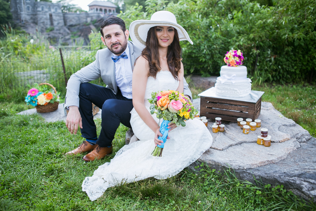 Photo 15 Wedding at Belvedere Castle in Central Park | VladLeto