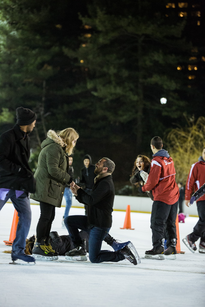 [Surprise Proposal on Wollman Rink Central Park