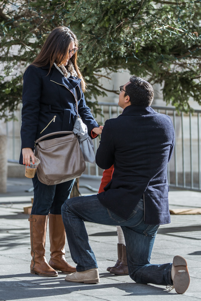Photo 9 Holiday Season is the most popular time to propose in NYC | VladLeto