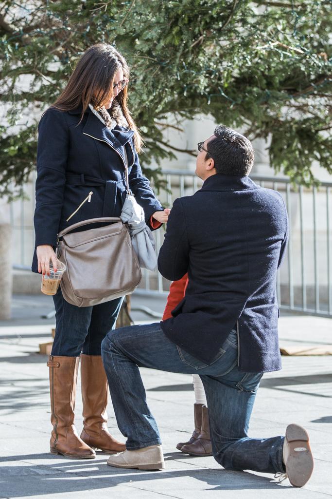 Photo 3 Secret Proposal at Washington square park | VladLeto