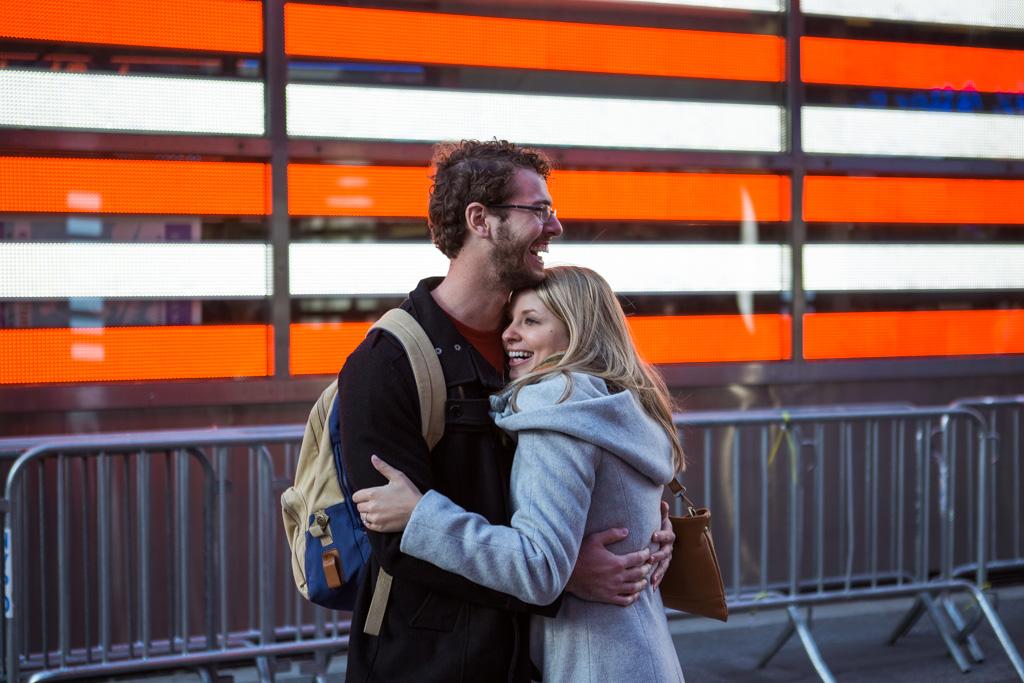 Photo 8 New York Times square secret proposal   VladLeto