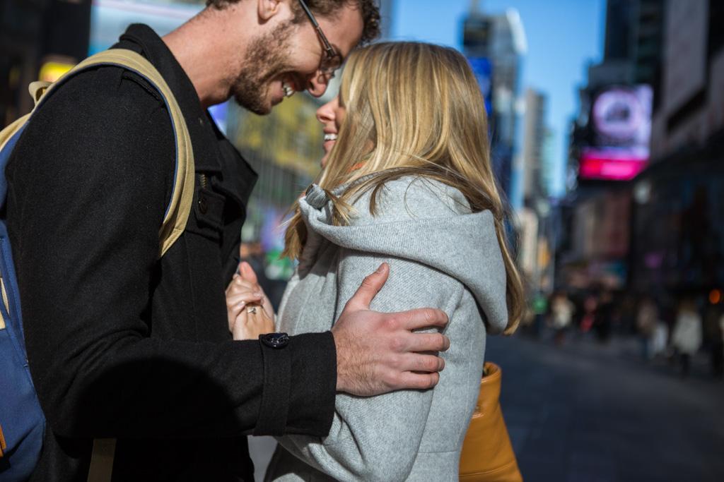 Photo 10 New York Times square secret proposal   VladLeto