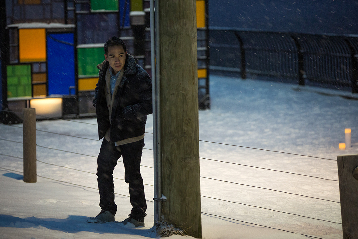 "Photo Surprise proposal story ""Snowy Night""   VladLeto"