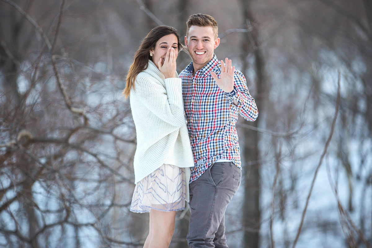 Photo 13 Surprise Proposal in Central Park near West 100th street | VladLeto