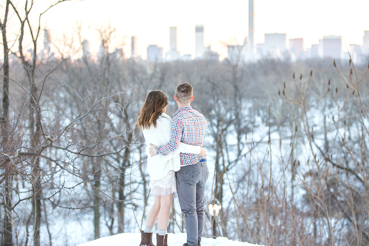 [Surprise Proposal in Central Park near West 100th street ]– photo[1]