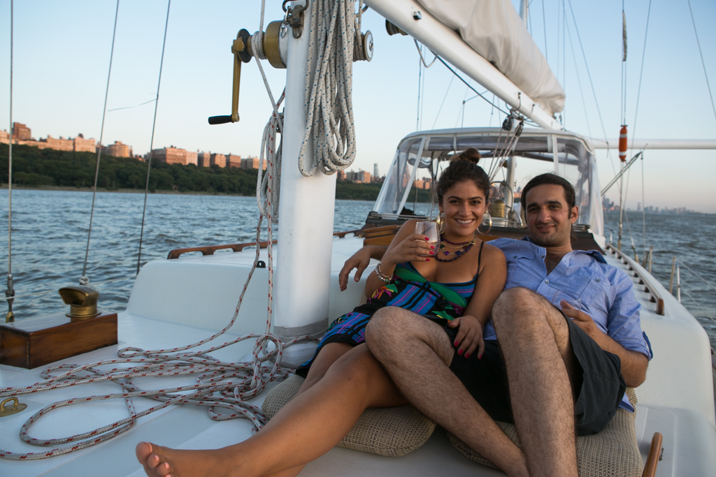 Photo 12 Wedding Proposal on a sail boat during the Fireworks 4th of July. Year 2013   VladLeto