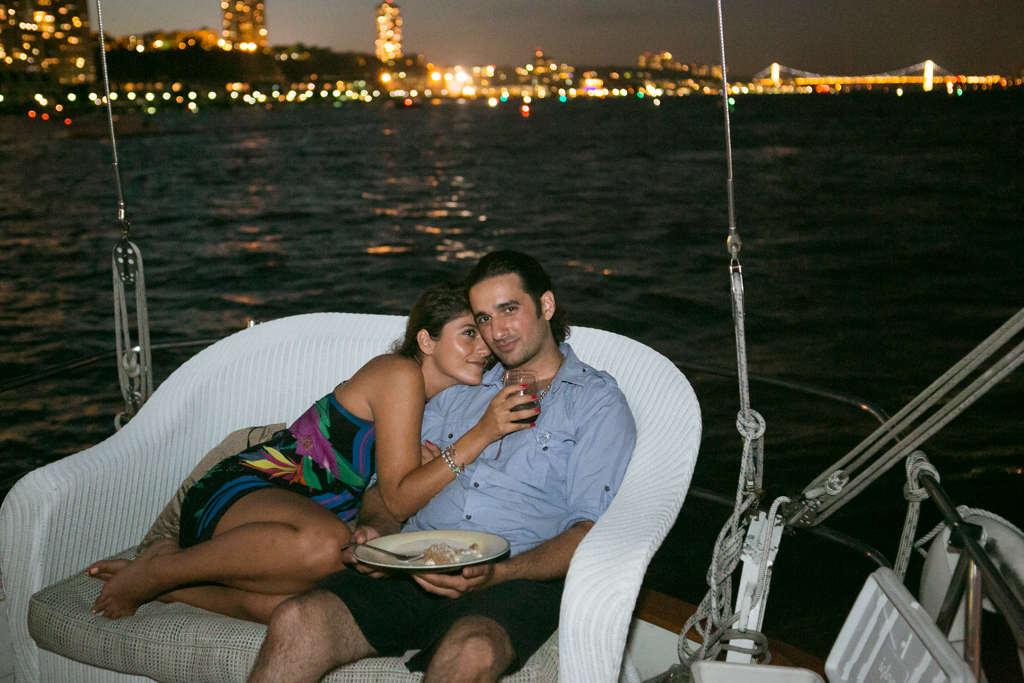 Photo 9 Wedding Proposal on a sail boat during the Fireworks 4th of July. Year 2013   VladLeto