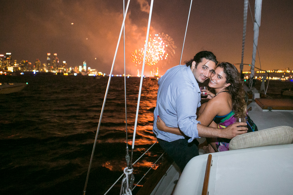 Photo 8 Wedding Proposal on a sail boat during the Fireworks 4th of July. Year 2013   VladLeto