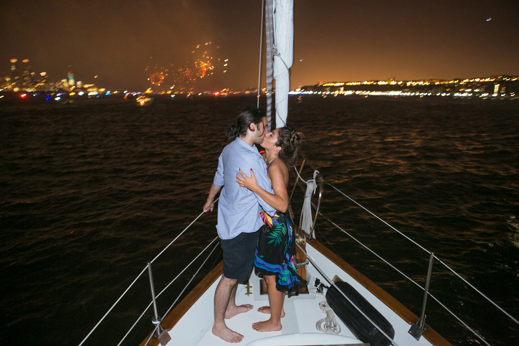 Photo 7 Wedding Proposal on a sail boat during the Fireworks 4th of July. Year 2013   VladLeto