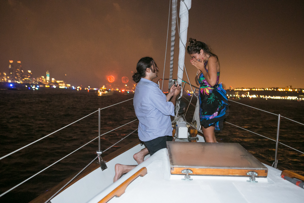 Photo 6 Wedding Proposal on a sail boat during the Fireworks 4th of July. Year 2013   VladLeto