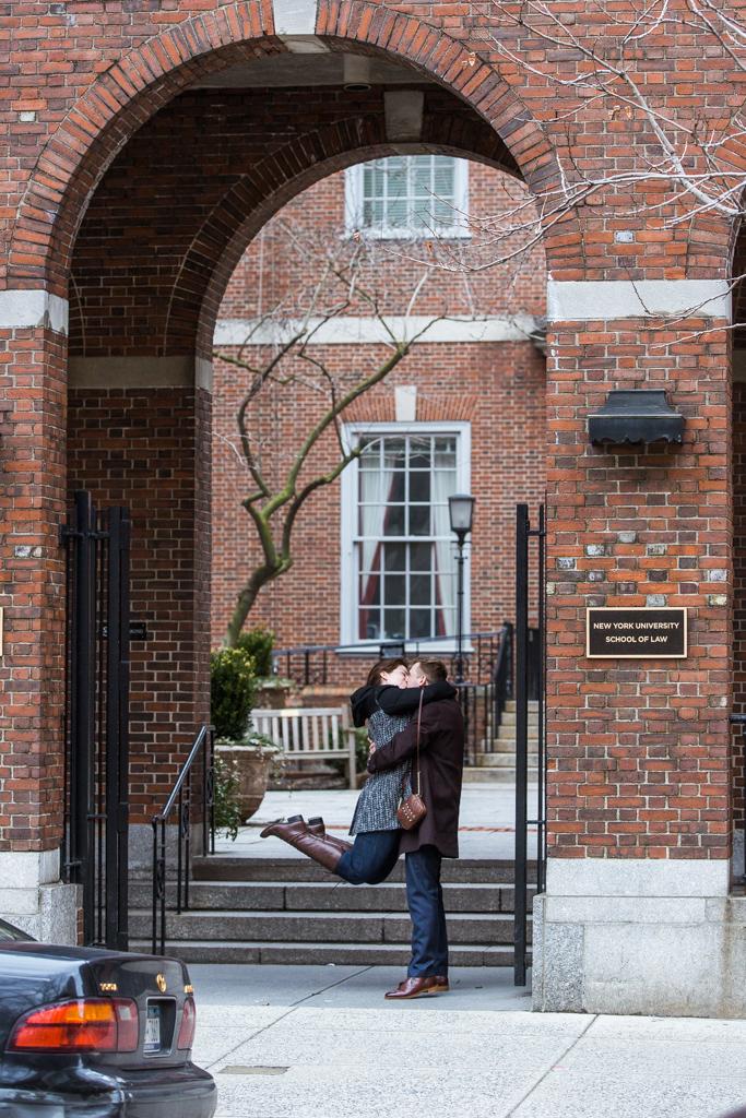 Photo 4 Marriage proposal by NYU School of Law | VladLeto