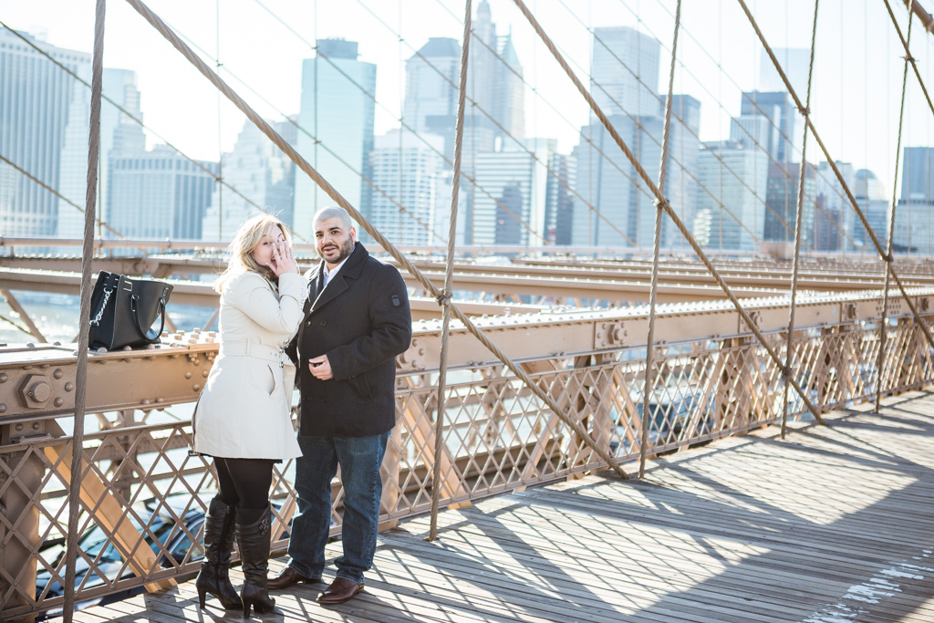 [Marriage proposal at Brooklyn bridge]– photo[4]