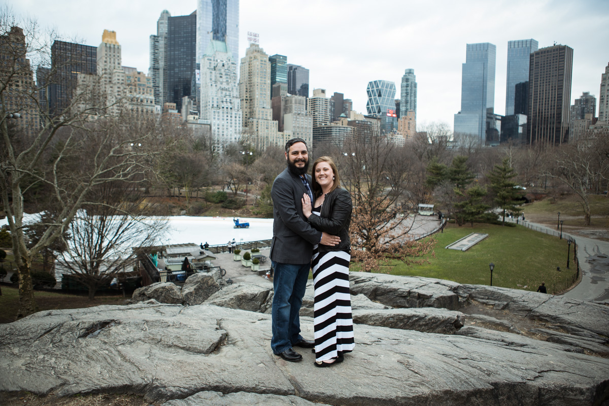 Photo 6 Surprise proposal by Love Sculpture in NYC. | VladLeto