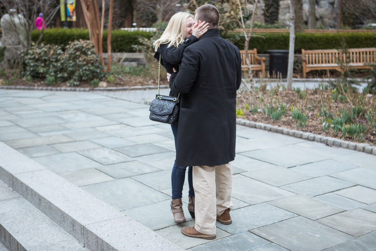 Photo 4 Marriage Proposal in Central Park Zoo | VladLeto