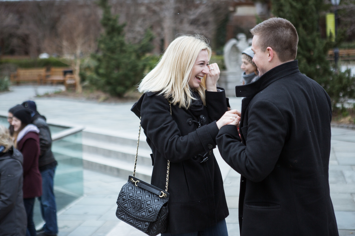 Photo 6 Marriage Proposal in Central Park Zoo | VladLeto